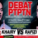 Debat PTPTN Khairy VS Rafizi